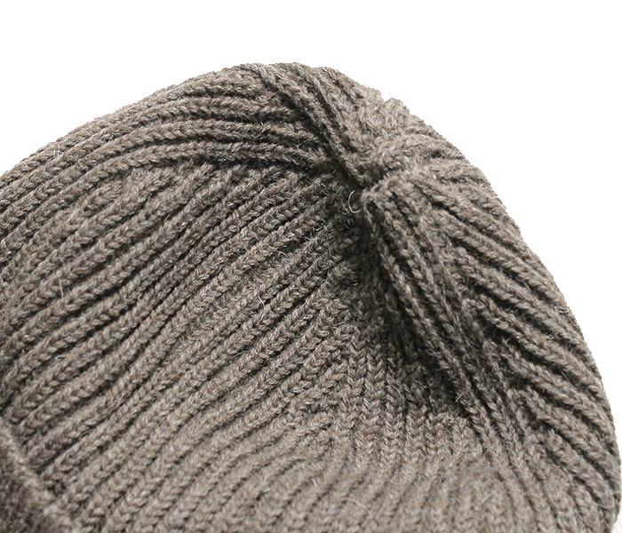 アンデルセン アンデルセン/ANDERSEN-ANDERSEN イタリア製 ''NATURAL COLOR WOOL'' BEANIE MIDDLE ニットキャップ ビーニーキャップ (AA72123-NAT-BEANIE-M)