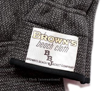 [レビューで送料無料]ブラウンズビーチ/BROWN'S BEACH ブラウンズビーチクロスミトングローブ【BB-MITTEN】[あす楽対応]