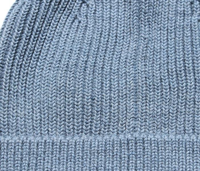 [送料無料]アンデルセン アンデルセン/ANDERSEN-ANDERSEN イタリア製 5GG INDIGO BEANIE LONG ビーニーキャップ ニットキャップ(AD-025)