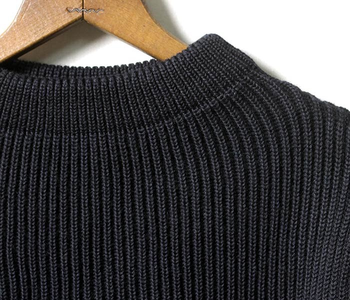 アンデルセン アンデルセン/ANDERSEN-ANDERSEN ''5GG THE NAVY CREW NECK''セーラークルーネックセーター・ニット(AD-002)