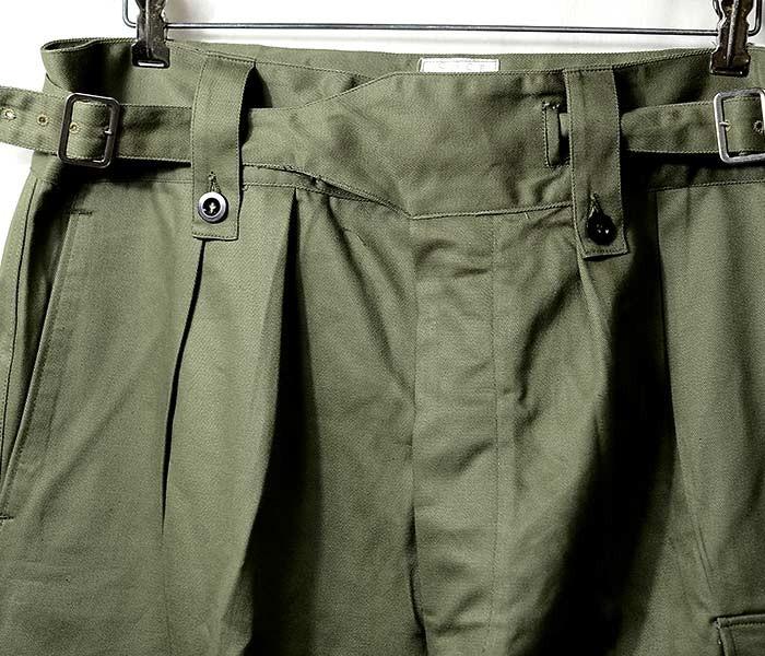 [送料無料]デッドストック/DEADSTOCK オーストラリア軍 60年代製 グルカパンツ カーゴパンツ CGCF VICTORIA 60s AUSTRALIAN ARMY BUCKLE PANTS (AUS-60S-ARMY-GURKHA-PT)