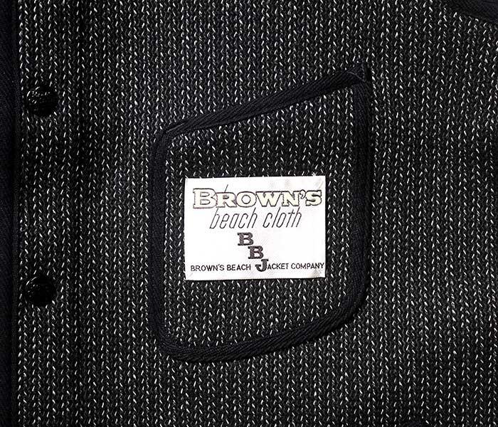 [送料無料]ブラウンズビーチ/BROWN'S BEACH 日本製 ブラウンズビーチクロス Vネックベスト(BB-724-V-NECK)