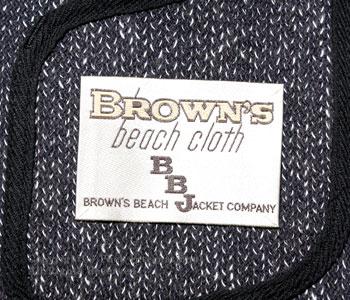 ブラウンズビーチ/BROWN'S BEACH ブラウンズビーチヴィンテージラウンドネックベスト【BB-324-VIN】[あす楽対応]