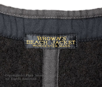 ブラウンズビーチ/BROWN'S BEACH ブラウンズビーチベスト【BBJ-001】