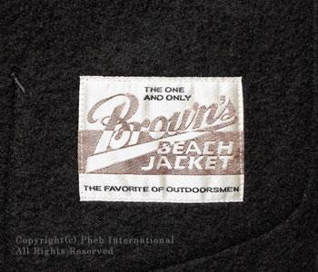ブラウンズビーチ/BROWN'S BEACH ブラウンズビーチベスト【BBJ-002】