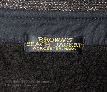 ブラウンズビーチ/BROWN'S BEACH ブラウンズビーチジャケット・カバーオール【BBJ-003】