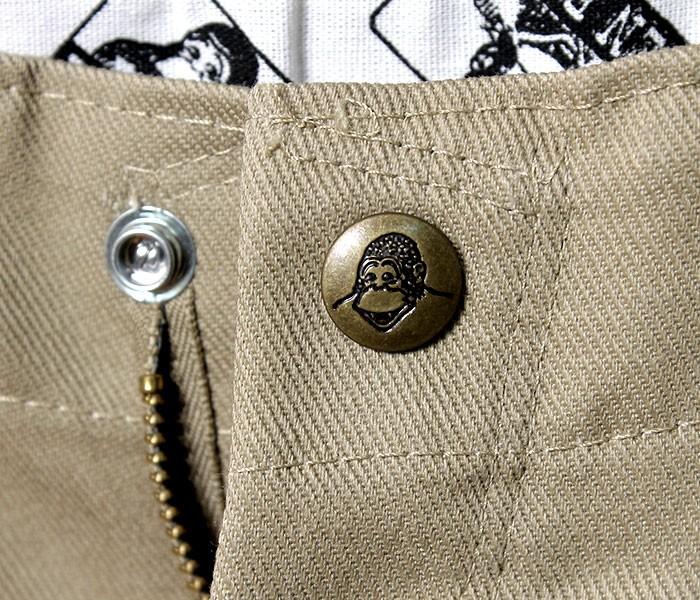 [送料無料]ベンデイビス/BEN DAVIS デッドストック/DEADSTOCK アメリカ製 ゴリラカット 極太 ワイドストレート チノパン ワークパンツ GORILLA CUT PANTS (USA-GORILLA-CUT-SNAP(BDUS-5700S))