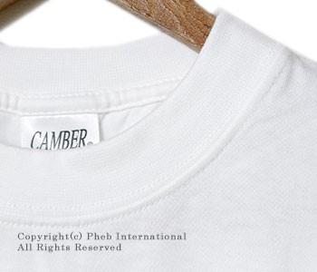 [レビューでメール便送料無料]キャンバー/CAMBER アメリカ製フィネストポケT・ポケットTシャツ(CAMBER-702-PK-HEAVY)