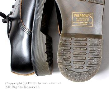 [送料無料]フェローズ/PHERROW'S(PHERROWS) 日本製 キャップド ダービーシューズ レザーシューズ (CAPPED-DERBY)