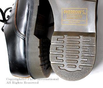 [送料無料]フェローズ/PHERROW'S(PHERROWS) 日本製 スチールキャップ キャップド ダービーシューズ レザーシューズ (CAPPED-DERBY-STEELCAP)