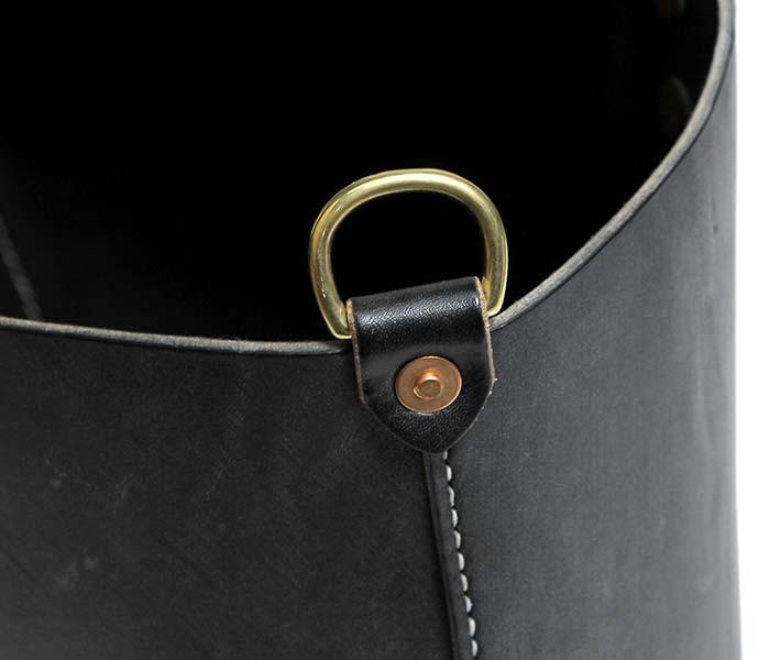[送料無料]チャーリーボロウ/CHARLIE BORROW 英国製 OAK BARK LEATHER WORKMAN TOTE オークバークレザー ワークマントート レザートートバッグ (CB005-LEATHER-TOTE-BLACK)