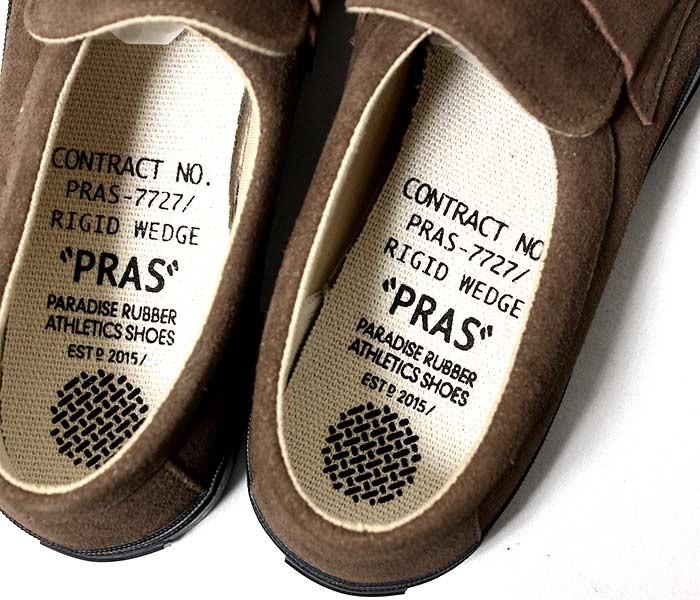 [送料無料]プラス/PRAS 日本製 コンフィ ローファー COMFY LOAFERS スニーカー スリッポン スウェード メンズ レディース (PRAS-CF04-001)