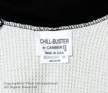 キャンバー/CAMBER ''チルバスター''アメリカ製14ozヘビーウエイト裏サーマルフルジップパーカー【CHILL BUSTER】[レビューで送料無料][あす楽対応]