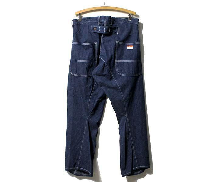 [送料無料]キャルオーライン/CAL O LINE 日本製 デニム バレルペインターパンツ (BARREL-PAINTER-PANTS-OW(CL162-034))