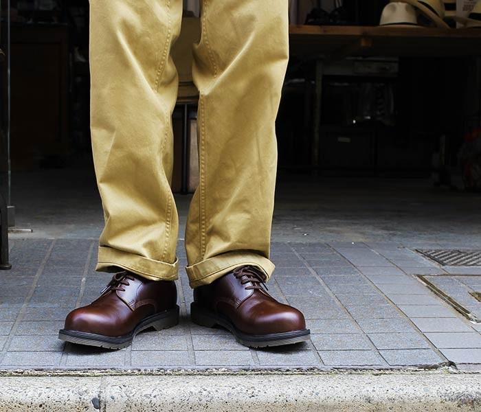 [送料無料]フェローズ/PHERROW'S(PHERROWS) 日本製 ''ダークブラウン'' キャップドダービーシューズ レザーシューズ (CAPPED-DERBY-BROWN)