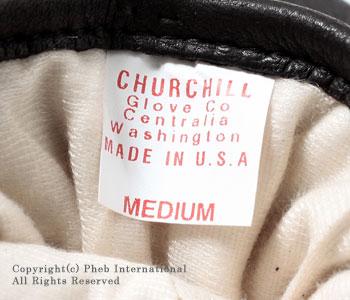 [レビューで送料無料]チャーチルグローブ/CHURCHILL GLOVE アメリカ製シンサレートライナー付きディアスキングローブ【MAVERICK CT(CLASSIC THINSULATE LINED)】 [あす楽対応]