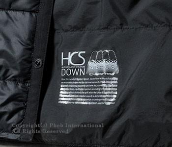 [送料無料]オルテライン/ALLTERRAIN 水沢ダウン(byデサント/DESCENTE) ''HCS DOWN''インナーダウン インナーハーフスリーブダウンシャツ(DIA3576U-SS)