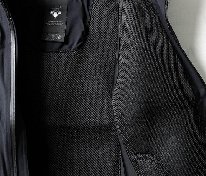 [送料無料]オルテライン/ALLTERRAIN (byデサント/DESCENTE) 日本製 レジリエント/RESILIENT ボア シェルジャケット BOA SHELL JACKET (DIA3775U-RESILIENT)