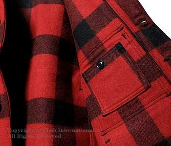 [送料無料]フィルソン/FILSON アメリカ製 ''シアトルフィット''スリムマッキーノ(マッキノー) ウールクルーザージャケット(MACKINAW-CRUISER-SEATTLE)