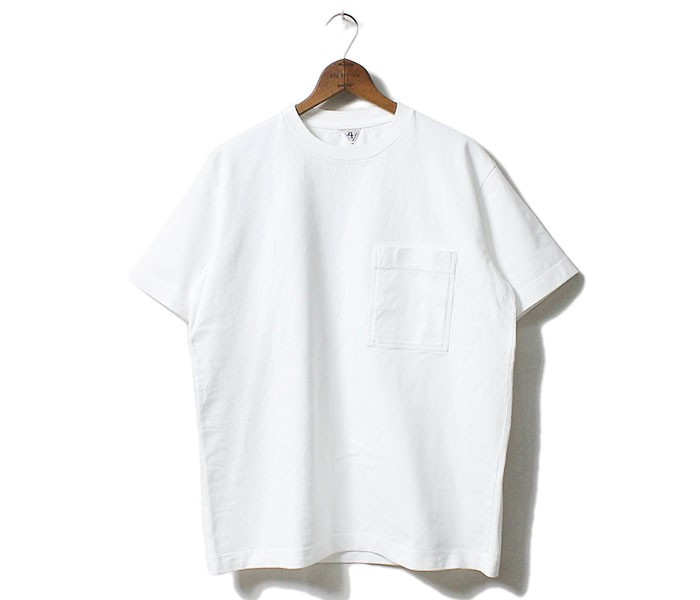 フィルメランジェ/FILMELANGE×フェブ/PHEB(アンドフェブ/AND PHEB) 別注''2トーンサニー''クルーネックポケット付きTシャツ【FM-SUNNY-PHEB】