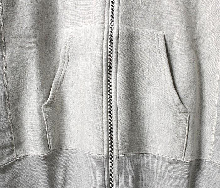 [送料無料]フィルメランジェ/FILMELANGE 日本製 ''アストレー'' 空紡裏毛 フルジップパーカー (ASTOLEY-FILMELANGE)