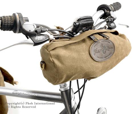 フロストリバー/FROST RIVER アメリカ製ワックスドコットンサイクリング(自転車)バッグ【FR-382】
