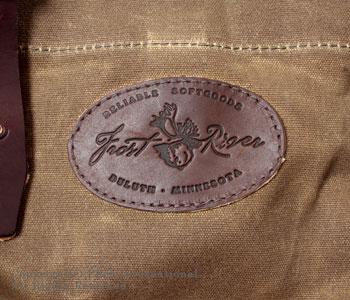 フロストリバー/FROST RIVER アメリカ製ワックスドコットンバザートートバッグ【FR-832】[送料無料]