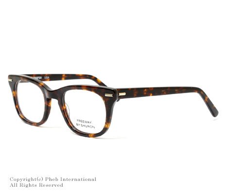 シュロン/SHURON アメリカ製''フリーウェイ''ウェリントン型メガネ(眼鏡)【FREEWAY(CLEAR)】