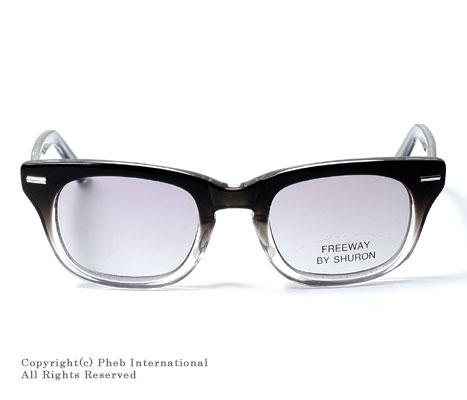 シュロン/SHURON アメリカ製''フリーウェイ フェイド''ウェリントン型メガネ(眼鏡)・シェード【FREEWAY-FADE】 [送料無料]