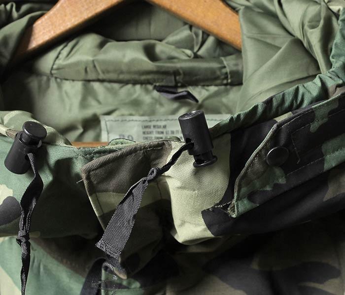 [送料無料]デッドストック/DEADSTOCK アメリカ製 1990年代製 U.S.ARMY GEN1 ECWCS パーカー 後期 CAMO ECWCS PARKA GENERATION1 (CAMO-GEN1-ECWCS-LATE)