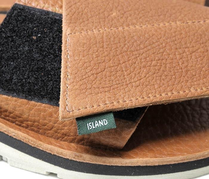 [送料無料]アイランドスリッパ/ISLAND SLIPPER アメリカ製 シボレザー ベルクロ サンダル (IG702V)