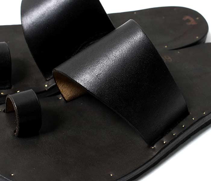 [送料無料]ユッタニューマン/JUTTA NEUMANN アメリカ製 アリス/ALICE ブラックラティゴレザー ビルケンソール レザーサンダル ハンドメイド (ALICE-BLACK-LATIGO-BIRK)
