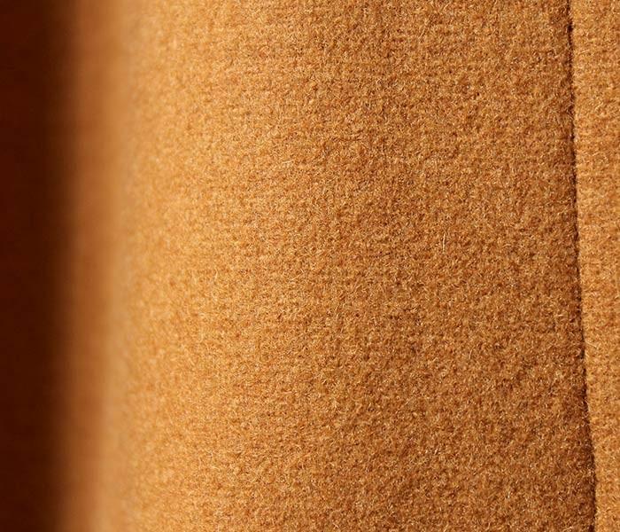 キャプテン サンシャイン/KAPTAIN SUNSHINE 日本製 ''ウォルナット'' ダッフルコート ダブルクロスメルトン (KS7FCO02-DUFFLE-WALNUT)