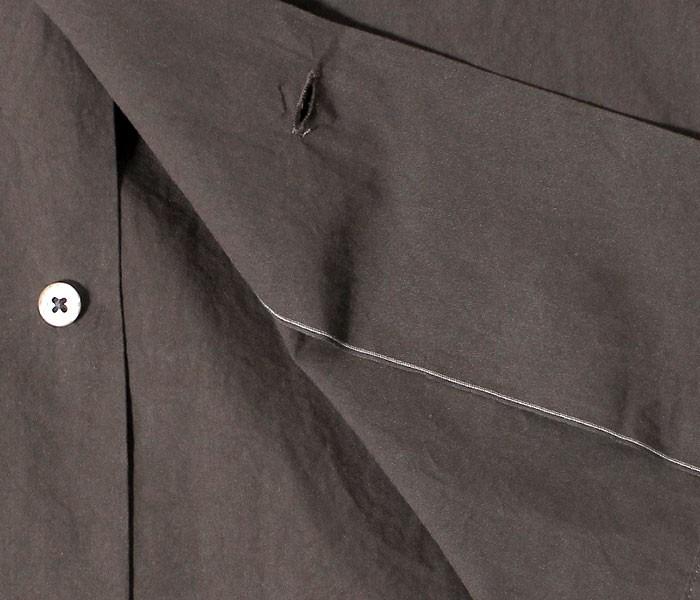 [送料無料]キャプテン サンシャイン/KAPTAIN SUNSHINE 日本製 シャトルウェザー ユーティリティ オープンカラーシャツ UTILITY OPEN COLLAR SHIRT (KS7FSH03-SHIRTS)