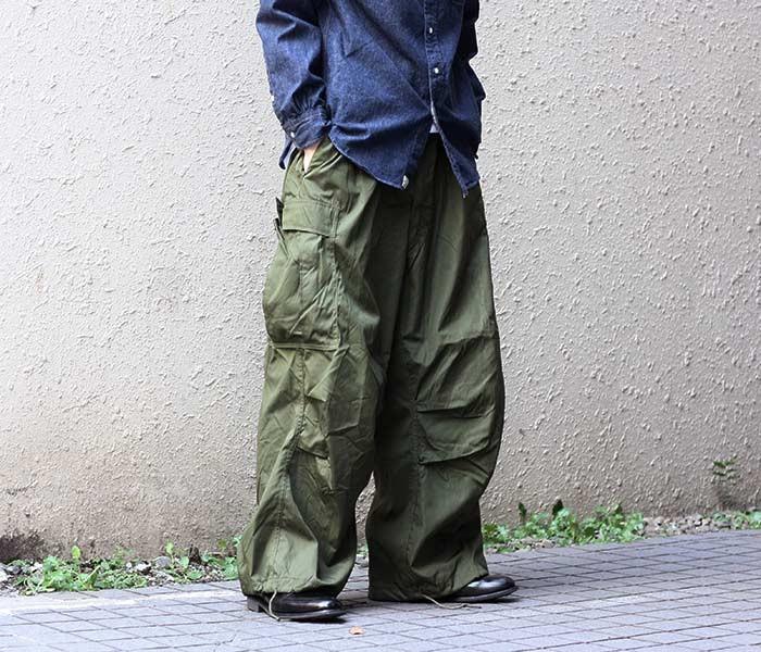[送料無料]デッドストック/DEADSTOCK M-51 M51 ウィンドオバーパンツ WIND OVER PANTS アメリカ軍 アメリカ製 1950年代 (M-51-WIND-OVER-PANTS)