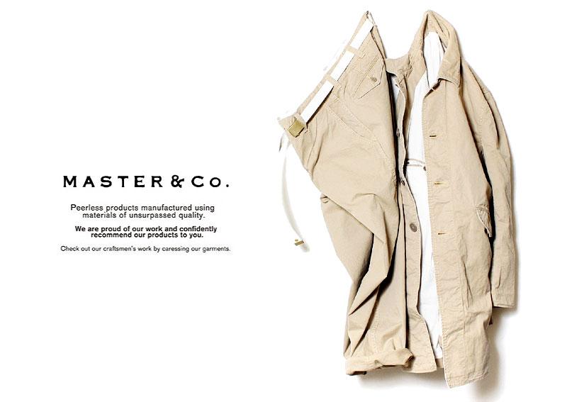 マスター&コー/MASTER & Co.