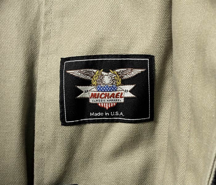 [送料無料]マイケルクラシックアパレル/MCA/MICHAEL CLASSIC APPAREL アメリカ製 ファイヤーマンコート FIREMAN COAT (MCA-001)