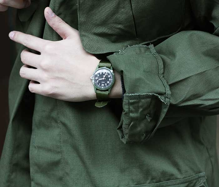 MWC Military Watch Company ドイツ製 ミリタリーウォッチ 腕時計 MIL/1966 MWC Infantry Watch Limited Edition European pattern dial (MIL-1966)