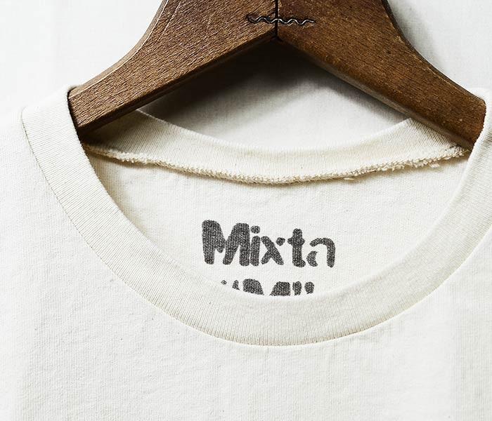 ミクスタ/MIXTA アメリカ製 プレーンポケットTシャツ ポケT (MXA-10-MUZI(MI1812001))