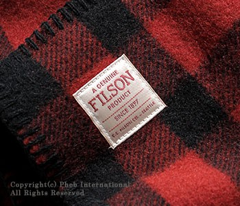 フィルソン/FILSON アメリカ製 マッキーノ(マッキノー)ブランケット(MACKINAW BLANKET)