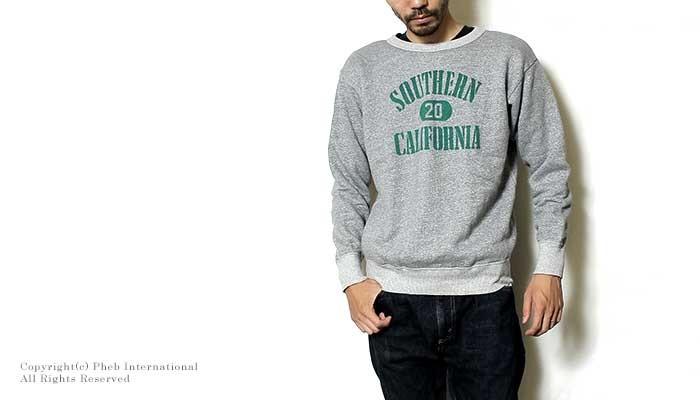 [送料無料]ミクスタ/MIXTA アメリカ製''SOUTHERN CALIFORNIA''クルーネックスウェット【MXA1500-SOUTHERNCAL】