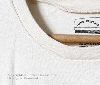 ミクスタ/MIXTA アメリカ製 ''BEE''プリントTシャツ(MXA-104-BEE)