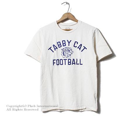 ミクスタ/MIXTA アメリカ製 ''TABBY CAT''プリントTシャツ(MXA-104-TABBY CAT)