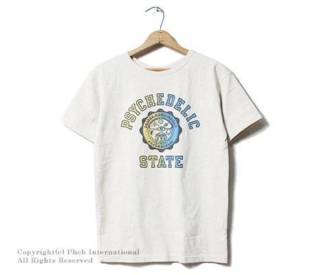 ミクスタ/MIXTA アメリカ製 ''PSYCHEDELIC STATE''プリントTシャツ(MXA-107-PSYCHEDELIC STATE)