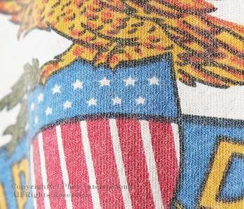 ミクスタ/MIXTA アメリカ製 ''CAMP DRUM''プリントTシャツ(MXA-1701-R1603-CAMP-DRUM)