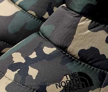 [送料無料]ザ・ノースフェイス/THE NORTH FACE ''ウッドランドカモ''ヌプシブーティ ウォータープルーフIVカモ(NF51583)