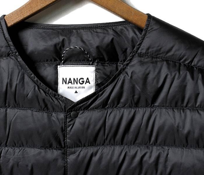 [送料無料]ナンガ/NANGA 日本製 インナーダウン ダウンカーディガン DOWN CARDIGAN (DOWN-CARDIGAN-NANGA)
