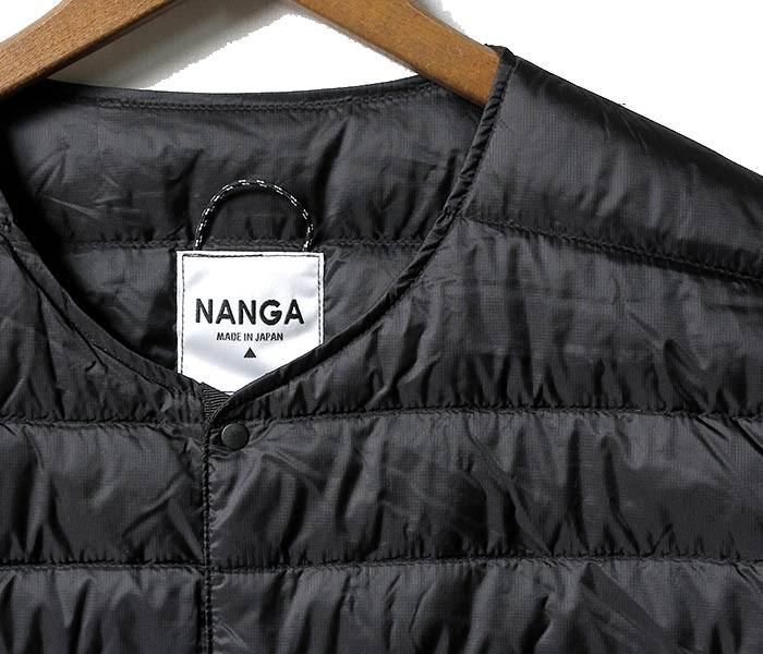 [送料無料]ナンガ/NANGA 日本製 インナーダウン ダウンTシャツ 半袖ダウン DOWN T-SHIRTS (DOWN-T-SHIRTS-NANGA)