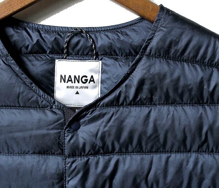 [送料無料]ナンガ/NANGA 日本製 インナーダウンベスト DOWN VEST (DOWN-VEST-NANGA)