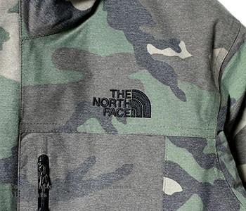 ザ・ノースフェイス/THE NORTH FACE ''ビンテージカモフラージュ''3WAY ノベルティ ゼウス トリクライメイト ジャケット ダウンジャケット(NP61644)